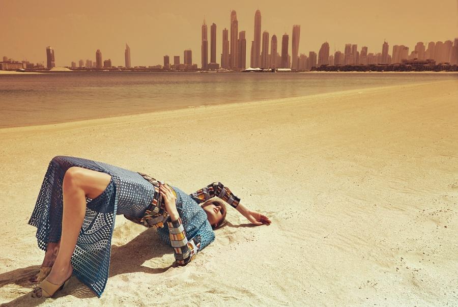 Tory Burch - ELLE Arabia April 2015