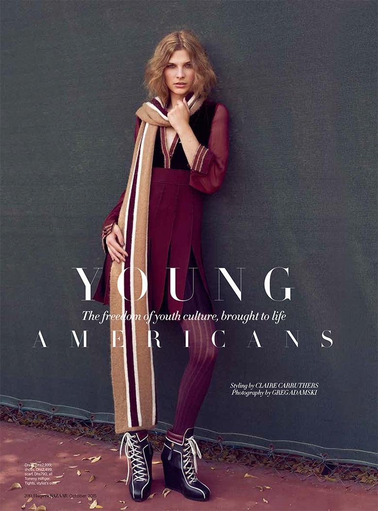 Tommy Hilfiger AW15- Harpers Bazaar Arabia